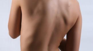 Как убрать складки со спины