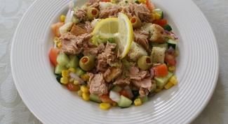 Как приготовить салат из рыбы