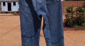 Как сложить мужские брюки: совет хозяйке