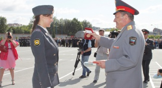How to enter the police school in Novosibirsk