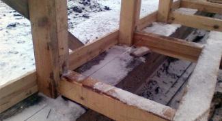 Как поставить дом на фундамент