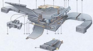 Как заменить печку на ВАЗ 2107