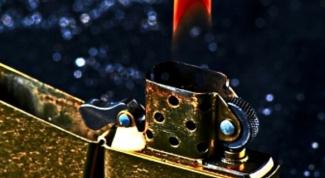 Как разобрать зажигалку