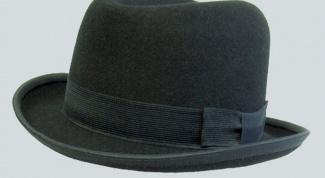 Как сделать фетровую шляпу