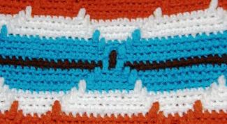Как менять нитки при вязании
