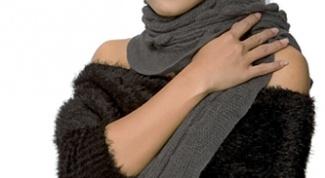 Как украсить вязаное платье