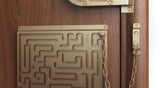 Как сломать замок двери