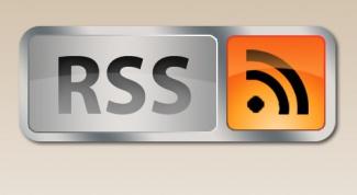 Как поставить RSS на сайт