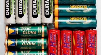Как выбрать аккумуляторные батарейки