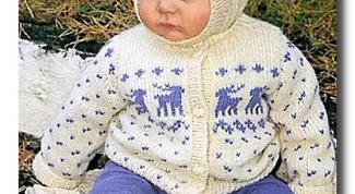Как вязать на спицах для малыша