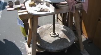 Как изготовить гончарный круг