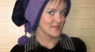 Как надевать длинные шапки