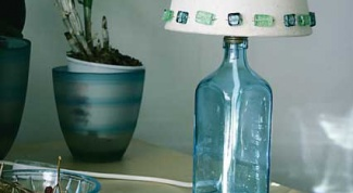 How to make hole in glass bottle
