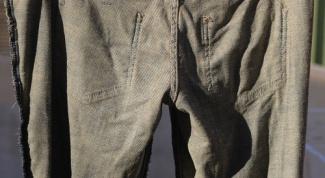 Как отремонтировать брюки