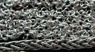 Как запаять серебряную цепочку