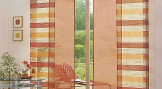 Как сделать японские шторы