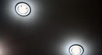 Как установить встраиваемые светильники