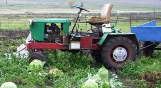 Как сделать самодельный трактор