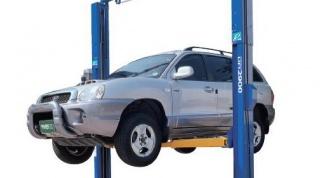 Как установить автоподъемник