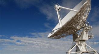 How to set satellite dish to the satellite