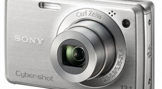 How to set a Sony digital camera