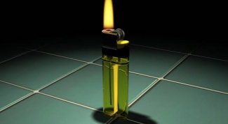 How to recharge a gas lighter