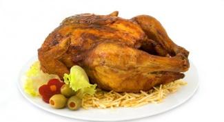 Как приготовить курицу с чесноком и потрошками