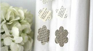 Как сделать бумажные гирлянды