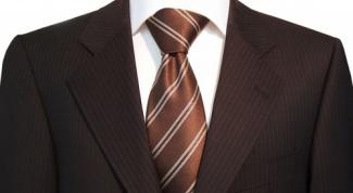 Как надевать галстук
