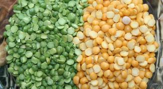 How to prepare peas for soup