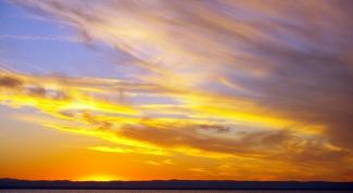 Как рисовать небо акварелью