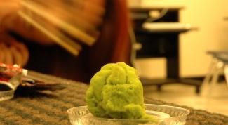 How to plant wasabi powder