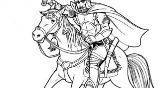 Как нарисовать человека на лошади