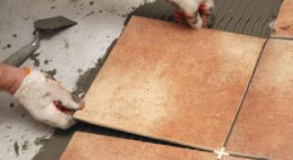 Как укладывать плитку на теплый пол