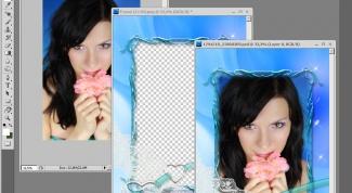 Как накладывать шаблон на фото
