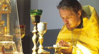 How to receive Holy communion in lent