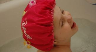 Как сделать шапочку для купания