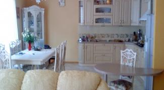 Как отделить гостиную от кухни