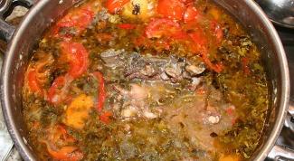 Как приготовить шулюм из баранины