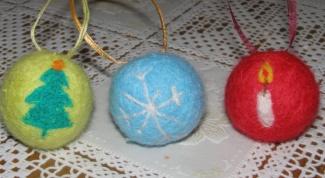 Как сделать новогодний шарик