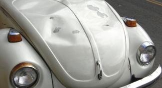 Как исправить вмятины на автомобиле