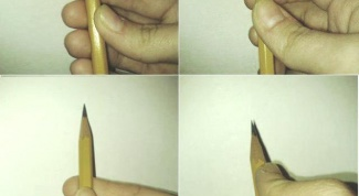 Как нарисовать пламя карандашом