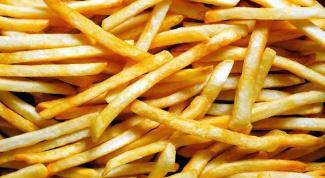 Как приготовить картофель фри во фритюрнице