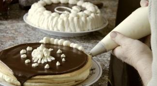 Как подписать торт