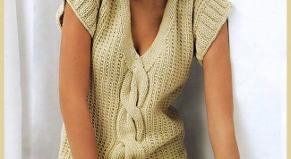 How to learn to knit a sweater