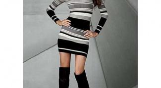 Как укоротить платье