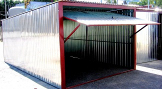 Как демонтировать гараж-ракушку