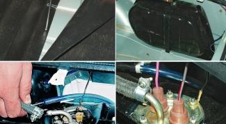 Как заменить топливный бак