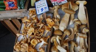 готовить сушеные белые грибы