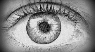 Как нарисовать человеческий глаз